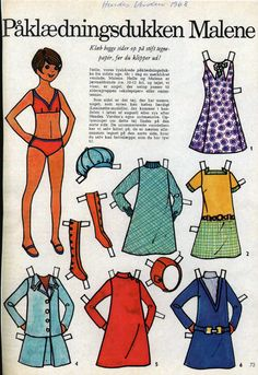Paper dolls and 1500 free paper dolls at Arielle Gabriel's International Paper Doll Society, lets be friends Twitter @QuanYin5, art, retro, home decor, New Age spirituality