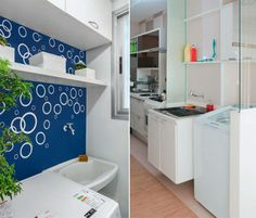 fun laundry room