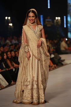 Bridal Couture Week Karachi 2014 show for Designer Zaheer Abbas