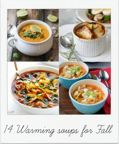 14 Fall Soup Recipes — Celebrations at Home