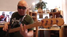 SlowFunk Ballad Funkrock backingtrack in Am F Dm Bdim E H720m2 Basscover...