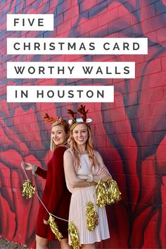 5 Holiday Themed & Styled Color Walls & Murals in Houston || Houston Street Art  and Murals || Houston Art || Visit Houston
