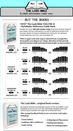 THE LASH BIBLE - Eyelash information made easy. Book II and III