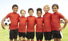 Boys and girls can be on the same team. - Learn English for beginners - English vocabulary for children & ESL students, learn the most common English words with pictures & examples