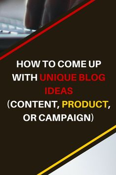 Sometimes it's hard to be unique and create unique posts for your blog. But there are ways in which you can make that possible. Read this post now. HOW TO COME UP WITH UNIQUE BLOG IDEAS (CONTENT, PRODUCT, OR CAMPAIGN) || KOL Blogging #blog #blogging #blogger