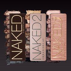 Urban Decay Naked Naked 2 Naked 3 Makeup