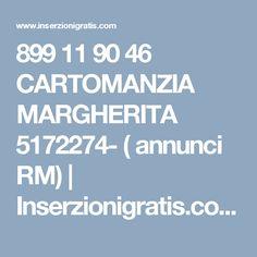 899 11 90 46 CARTOMANZIA MARGHERITA 5172274- ( annunci RM) | Inserzionigratis.com