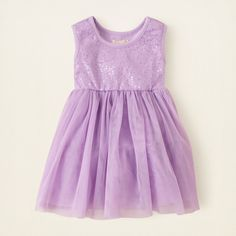 71792f4b1 The Children's Place - Lavender Tutu Dress ($21) found on Polyvore Big  Fashion,