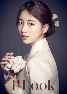 """Kpop idol Suzy of girl band """"Miss A"""" looking beautiful in a korean hanbok Source: Look magazine Korean Traditional Dress, Traditional Outfits, Miss A Suzy, Korean Hanbok, Idole, Bae Suzy, Korean Actresses, Korean Celebrities, Mannequins"""