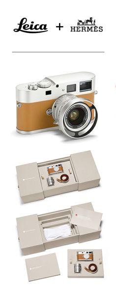 Co-Branding // Leica + Hermes  #leica #hermes #cobranding #camera
