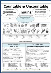 esl count non nount nouns pdf