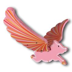 Flying Pig Mobile. The perfect home decor piece when surrounded by pessimism.