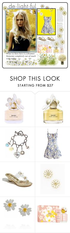 """""""delightful daisy"""" by jamie-760 ❤ liked on Polyvore featuring Marc Jacobs, Gerber, Juicy Couture, Soul Cal, J.Reneé, Alex Monroe, Luxo, daisy and daisies"""