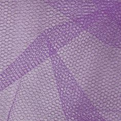 Nylon Netting Lavender from @fabricdotcom  The possibilities are endless with nylon netting fabric!  This versatile netting fabric is ideal for costumes, bridal accessories, petticoats, tutus, party dresses and more!