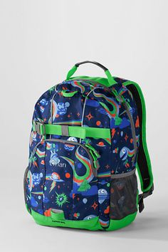 Kindergarten backpack for next year...Boys' Spaceman ClassMate® Small Backpack from Lands' End