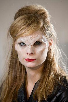 Buffy the vampire slayer, vampire Prosthetic MakeUp Horror Makeup, Scary Makeup, Sfx Makeup, Costume Makeup, Makeup Looks, Spooky Costumes, Prosthetic Makeup, Fantasy Make Up, Theatrical Makeup