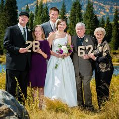 My must have wedding photo.  We all had September weddings.  Parents for 28 years.  Grandparents for 62!