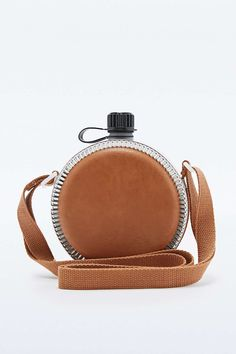 Vegan Leather Water Bottle