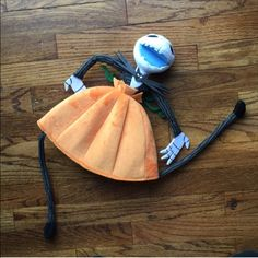 Novelty Disney Pumpkin beanie Novelty jack skellington beanie from Disneyland. The ends of the feeties attach at the bottom of your head with Velcro. Sized for adults, has an adjustable Velcro strap on the inside of the hat in the back. Never been worn Accessories Hats