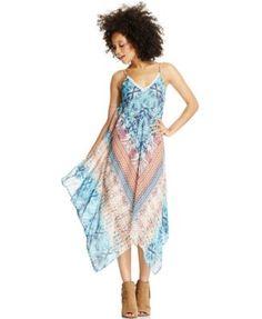 American Rag Asymmetrical-Hem Maxi Dress($47.99)