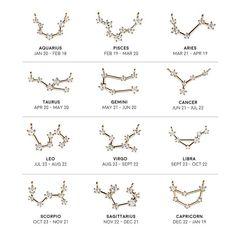Capricorn Constellation Necklace