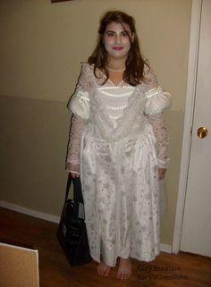 White Queen Halloween costume 2010