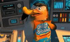 Penguin eating cheetos - Penguins of Madagascar Penguins Of Madagascar, Humor, Cheetos, Fictional Characters, Gifs, Humour, Funny Photos, Fantasy Characters, Funny Humor