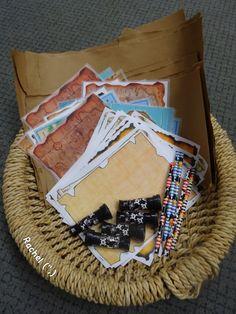"Treasure Map-Making Basket from Rachel ("",)"