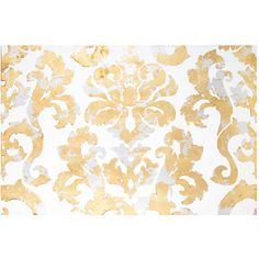 Damask Foil Canvas Wall Decor ($70) ❤ liked on Polyvore featuring home, home decor, wall art, canvas wall art, canvas home decor, damask home decor and damask wall art