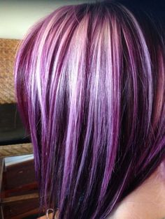 17 Best ideas about Purple Hair Tips on Pinterest | Purple tips, Ombre purple hair and Dark pastel hair
