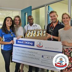 Sleep specialist group Bed King ran their third annual campaign to raise money for Red Cross War Memorial Children's Hospital. Partnering with The Children's Hospital Trust, Bed King raised R145 500 for the upgrade and expansion of Red Cross War Memorial Children's Hospital's Emergency Centre. Read more by visiting our website below. Sleep Specialist, Five Hundred, Childrens Hospital, Giving Back, Red Cross, King Beds, How To Raise Money, The Expanse, Centre