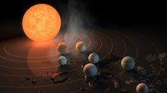 Los tres planetas del sistema recientemente descubierto por la NASA reúnen las condiciones ideales para el surgimiento de vida según los científicos.