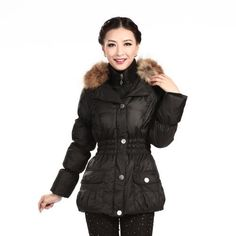 Shuangyu Short Women's Winter Casual Hooded Down Jacket Bosideng. $120.30