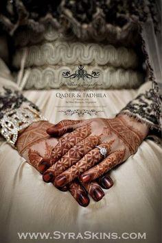 Moroccan bridal henna