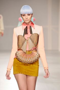Dutch fashion designer Yvonne Kwok.  Source: Pinterest Posted by: Jennifer de Winter Tursday - Fashion