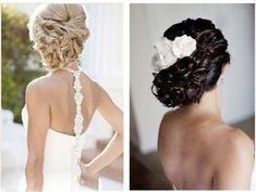Elegir según el color de tu cabello el peinado para tu boda  Ver más peinados en:  http://www.webcasamiento.com/peinados-de-novia-recogidos/