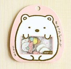 Make your bullet journal or planner cuter than ever with these kawaii Japanese Sumikko Gurashi stickers. 50 stickers in each pack! Kawaii Stickers, Cute Stickers, Craft Packaging, Packaging Design, Kawaii Games, Cute Stationary, All Things Cute, Cute Characters, Cute Illustration