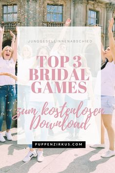 3 special games for the hen party + Free Printables - jga - Hochzeit Special Games, Bridal Games, Bachelorette Weekend, Bachelorette Party Activities, Let's Get Married, Susa, Who Runs The World, Tabu, Free Printables