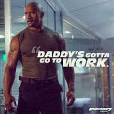 """Watched our new #Furious7 Super Bowl trailer... Epic on all levels. Really dug it and I think you will too. Enjoy the game, enjoy the trailer...…"" Dwayne The Rock Johnson"