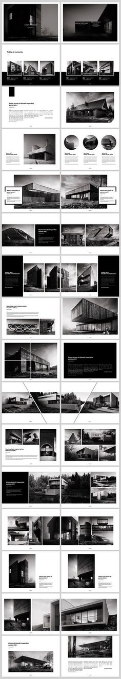 Architecture Landscape Brochure on Behance