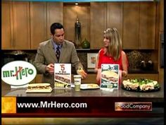 Mr. Hero spokesperon, Nicole, on Cleveland Channel 3's Good Company show, May 2012.