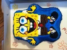 Sponge Bob cake I made for a friend!