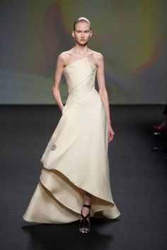 12 wedding dresses for the winter bride:  gown by Christian Dior
