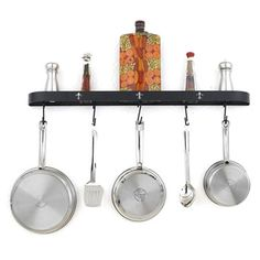 I pinned this Millfield Wall Pot Rack from the Connoisseur's Kitchen event at Joss and Main!