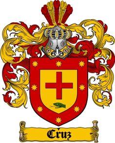 Cruz Family Crest / Cruz Coat of Arms