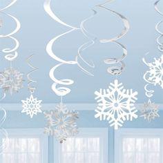 Make your own Metallic Swirls using a silver cardboard plate