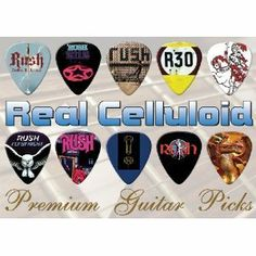 Printed Picks Company Rush Guitar Picks X 10 (A4) by Printed Picks Company. $10.99. Rush Guitar Picks X 10 (A4)