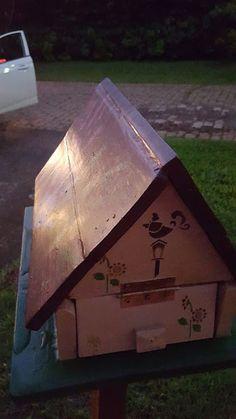 ALC RÚSTICOS : Casinha de correio decorada