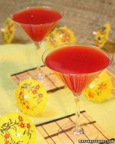 Blood Orange Martini - Martha Stewart Recipes