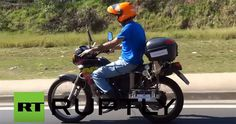 Motorcycle Goes 300 Miles on 1 Liter of Water - H20 Powered Engine